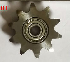 #25 Sprocket Idler 10 Tooth 4mm bore for Industrial Roller Chain