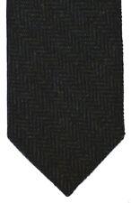 Green Herringbone Tweed 7.5cm Wool Handle Tie 4 dressed shirt kilt sporrans SALE