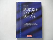 Inge Wolff: Business-Knigge von A bis Z