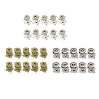 10 Stück Magnetverschluss zum Annähen 14mm Magnetschloss Magnetknopf