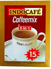 First Class Indocafe Coffee Mix 3 in 1 15 Sachets 10.5oz US Seller Free Shipping