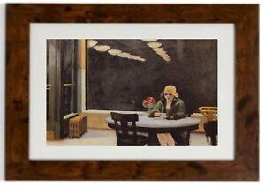 """Automat "" Framed Print By Edward Hopper"