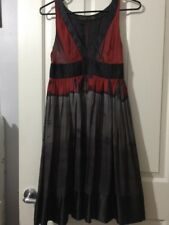 Zara Women Size 6 US Medium 100% Silk Dress 👗