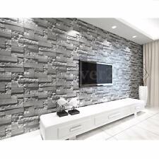 3D Wallpaper Brick Pattern Textured TV Background Home Art Decor Wear-resistant