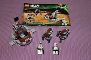 LEGO Star Wars 75000 Clone Troopers vs. Droidekas 100% w/minifigs & instructions