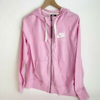 Nike Sportswear Gym Vintage Hoodie Jacket Plus Size 1X Pink Full Zip Women's New