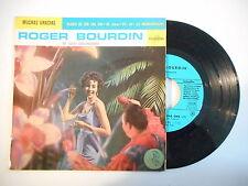 ROGER BOURDIN : CLASES DE CHA CHA CHA - MUCHAS GRACIAS ► EP / 45 ◄ PORT GRATUIT