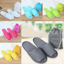 Mens Womens Warm Soft Indoor Slippers Cotton Sandals Houses Home Anti-slip Shoes