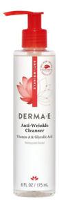 Derma E Anti-Wrinkle Cleanser 6 oz 175 ml. Facial Cleanser