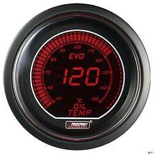 PROSPORT 52mm EVO Series Digital Red / Blue Led Oil Temperature Gauge Celsius