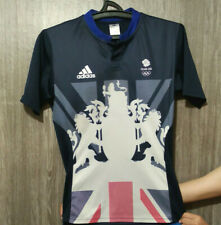Cycling Jersey Great Britain Olympic Team Gb Adidas Shirt Mens Size S Excellent