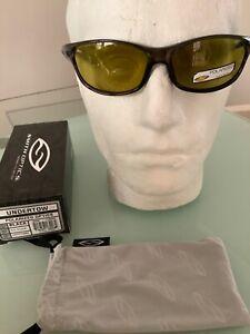 Smith undertow polarised sunglasses black with yellow lens fishing