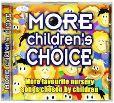 More Children's Choice CD  nursery songs and rhymes chosen by kids *NEW*
