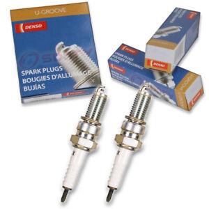 2 pc Denso Standard U-Groove Spark Plug for Suzuki GS500 1989-2002 Tune Up sf