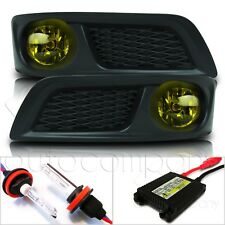 For 10-12 Subaru Legacy Fog Lights w/Wiring Kit & HID Conversion Kit - Yellow