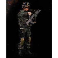 1/6 Figure d'action de la paix, DIY mobile réaliste tête à tête soldat modè