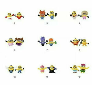 2021 MCDONALDS MINIONS HAPPY MEAL TOY (NUMBER 9) see photo attached