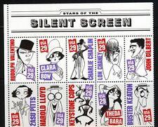 USA 2440/49 Stummfilm Postfrisch