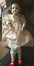 KH WALKURE GERMANY ANTIQUE REPRODUCTION PORCELAIN DOLL -1981