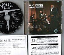 NM! OSCAR PETERSON We Get Requests JAPAN DSD SACD HYBRID CD UCGU-7032 w/OBI