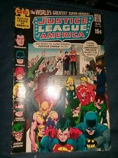 Justice League of America #88 VG 1971 DC Neal Adams Cover Comic Book lot movie