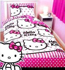 Character World 135 x 200 cm Hello Kitty Hearts Single Rotary Duvet Set new
