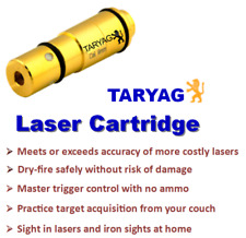 Taryag Dry-Fire Laser Training Bullet for Most Pistol Calibers