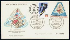 Mayfairstamps Niger 1974 US mixed Franking Olympics HN Perfin First Day Cover ww