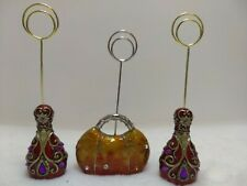 """Name Card Placement Holders 5.5"""" Bowling Pins and Bowling Bag"""