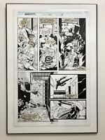 DAREDEVIL  #314 (Vol. 1 - 1964 Series) ORIGINAL ART BY SCOTT MC DANIEL LAMINATED