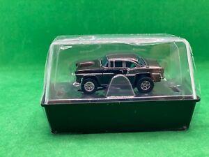 ORIGINAL AUTO WORLD, '55 CHEVY BEL AIR, BLACK/SILVER, CALIFORNIA CRUISING, NEW