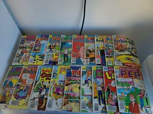 Vintage Archie And Me/PEP Comic Books Lot Of 18