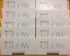 Rodan and Fields Give It A Glow 10 Sample Packets REDEFINE Mini Facials SERUM