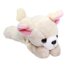 Dog Plush Doll Toy Cute Stuffed Animal Plushie Beige Chihuahua Plush 9 Inches