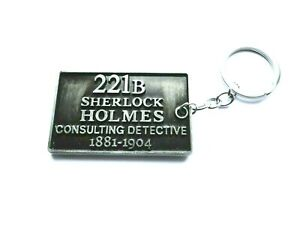 Sherlock Holmes Detective Keyring
