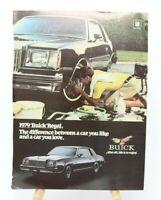 1979 BUICK Regal Vintage Magazine Automobile Print Ad