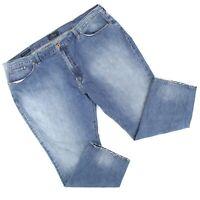 Lucky Brand Mens 181 Relaxed Straight Leg Jeans Sz 50 x 32 (50 x 30) Med Denim