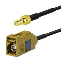 Car Satellite Radio Antenna Adapter Cable 15cm for Sirius XM Radio