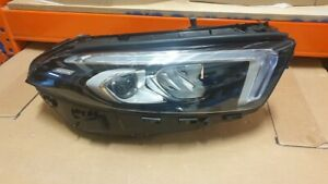 Mercedes A CLASS A177 UK Spec RHD Headlamp Headlight FULL LED Right A1779065003