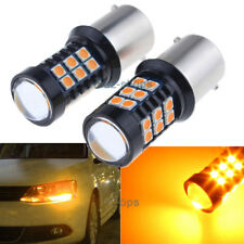 Amber Yellow 30SMD LED Canbus Bulbs For Volkswagen MK6 Jetta Daytime DRL Light