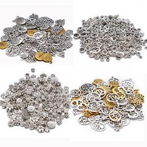Hand Made Paket 30 x Gold Tibetanische 13mm Charms Anh/änger ZX00605 - Charming Beads -