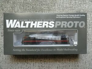 Walthers Proto HO Southern Pacific Black Widow SD9 with DCC and LokSound! #5416