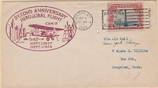KAPPYSSTAMPS M155 USA SCOTT # C11 FIRST FLIGH USED CATALOG = $9