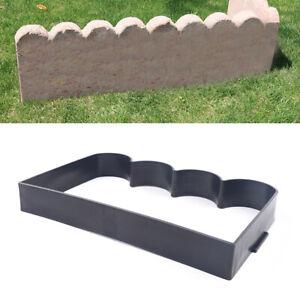 Garden Fence Molds Concrete Brick Courtyard DIY Mould Plastic Cement Molds Decor