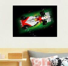 New listing Ayrton Senna McLaren MP4/8 Top F1 Print - Scuderia GP