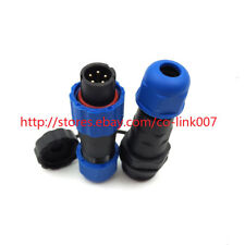 SD13 5pin Waterproof Connector, IP68 High-voltage Power Connector 380V Auto Plug