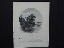 Picturesque Europe In-Text Illustration #02 Ireland - Innisfallen, Killarney