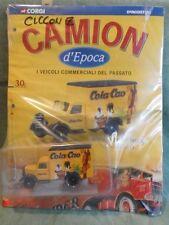 Corgi Metal Truck Vintage 1/64 Output No 30 Cola Cao with dossier de agostini