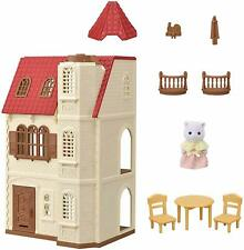Sylvanian Families Red Roof House with Elevator Lift HA-49 EPOCH From Japan F/S