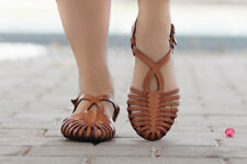 Women's Woven Leather Sandals - Brand New Size EU 36/ US 6.5